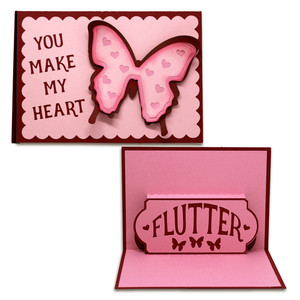 flutter pop-up card