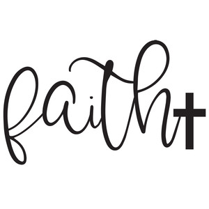 faith cross word