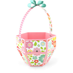 hexagon easter basket