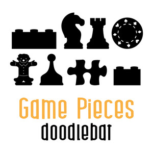 game pieces doodlebat