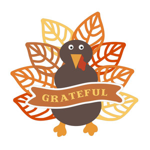grateful turkey