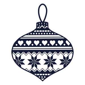 pattern bauble