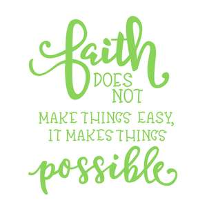 faith phrase