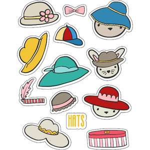 ml hats hats hats stickers