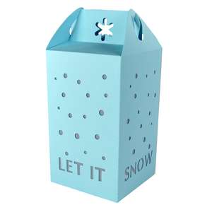 let it snow lantern