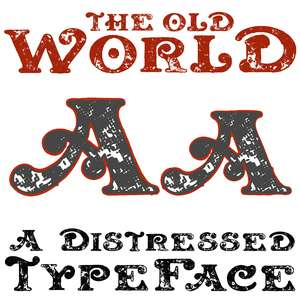 the old world font