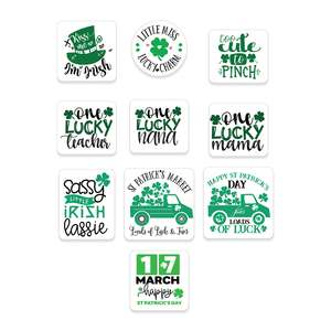 st patricks stickers