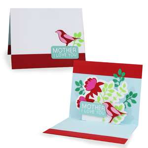 pop up card - mothers
