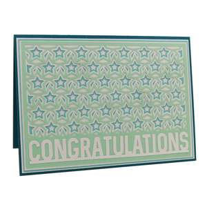 layered congratulation a7 card