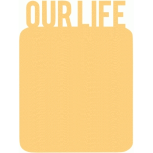 our life 3x4 life card