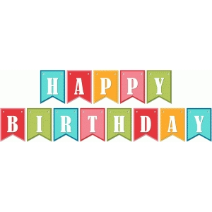 lori whitlock 'happy birthday' banner