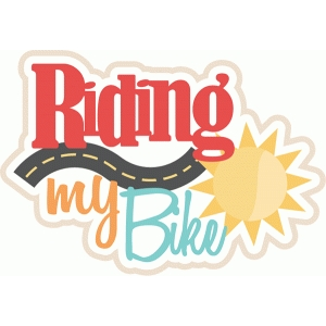 riding my bike title