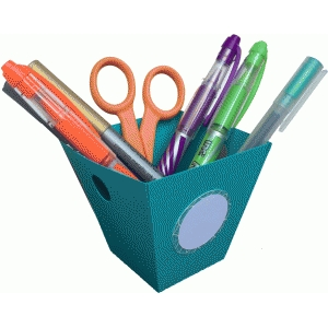 office & craft supply container