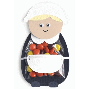 pilgrim girl treat bag