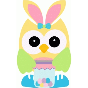 easter owl w candy