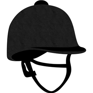 english riding hat