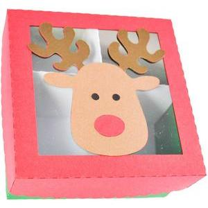 christmas reindeer box