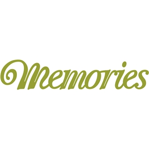 'memories' word phrase