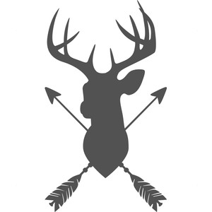 deer arrow logo
