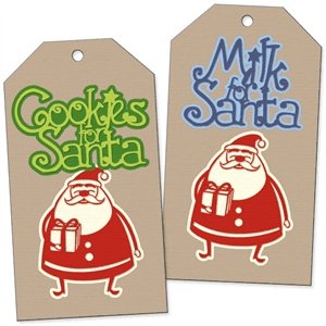 treats for santa tags