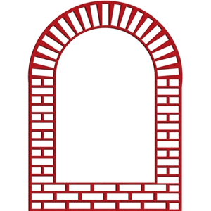 brick window frame
