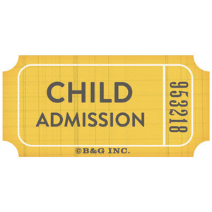 child admission ticket