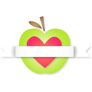 apple and banner