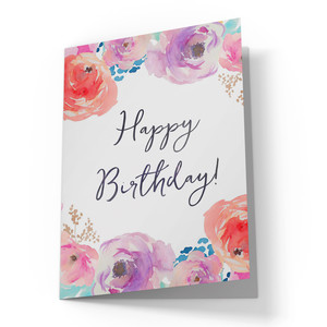 happy birthday printable card