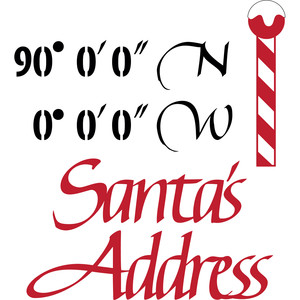 santa's address coordinates
