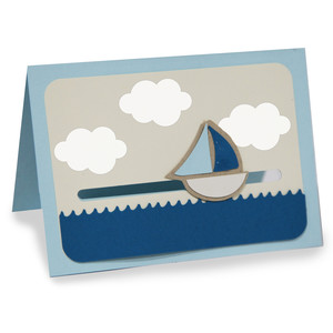 sailboat motion card