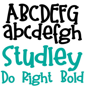 pn studley do right bold