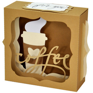 coffee time gift card box