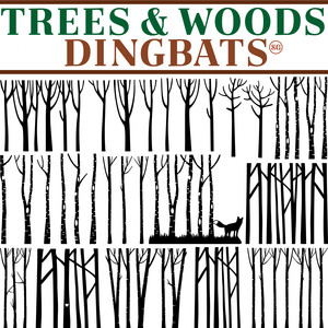 sg trees & woods dingbats