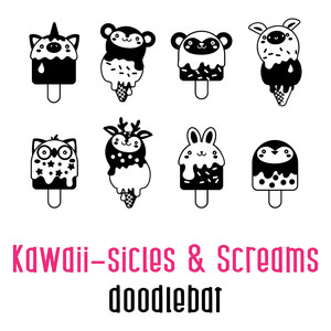 kawaii-sicles and screams doodlebat