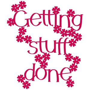 getting stuff done phrase