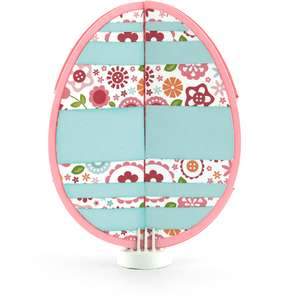 double gatefold card easter egg
