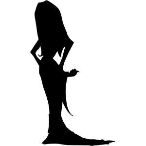 mrs dracula silhouette