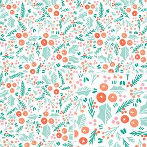 branches & berries pattern