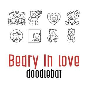 beary in love doodlebat