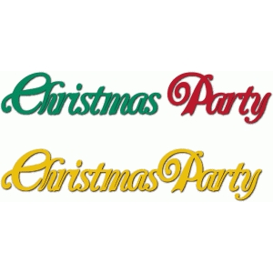 christmas party phrase