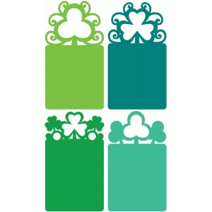 shamrock tag set