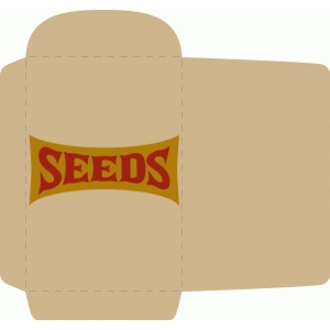 seed packet envelope