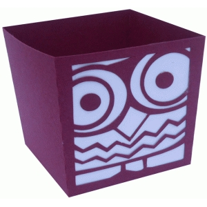 short owl candy box