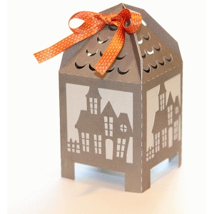box haunted house tent top