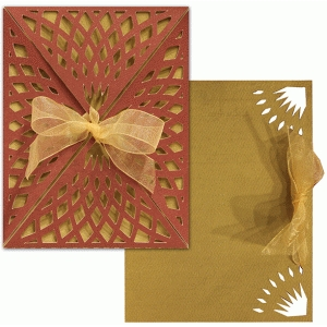 a2 card wrap set: net lace