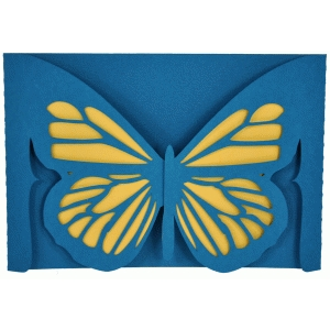 butterfly gatefold card