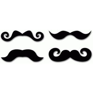 four mustaches