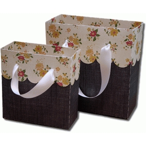3d large scallop fold over gift bags