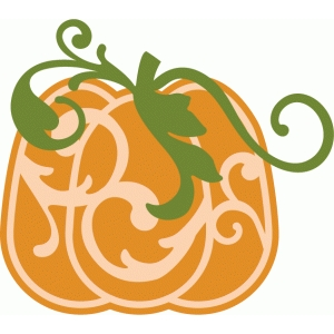 tall flourish pumpkin