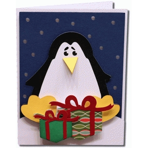 a2 penguin card